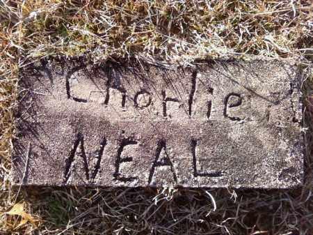 NEAL, CHARLIE - Cleveland County, Arkansas   CHARLIE NEAL - Arkansas Gravestone Photos