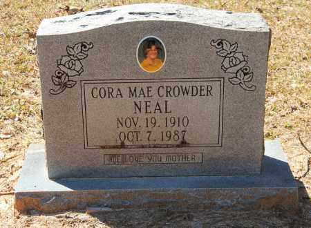 CROWDER NEAL, CORA MAE - Cleveland County, Arkansas   CORA MAE CROWDER NEAL - Arkansas Gravestone Photos