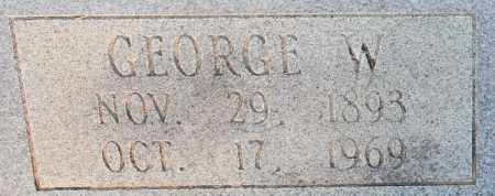NEAL, GEORGE W (CLOSE UP) - Cleveland County, Arkansas | GEORGE W (CLOSE UP) NEAL - Arkansas Gravestone Photos