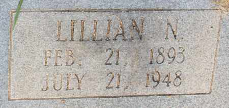 NEAL, LILLIAN N (CLOSE UP) - Cleveland County, Arkansas   LILLIAN N (CLOSE UP) NEAL - Arkansas Gravestone Photos