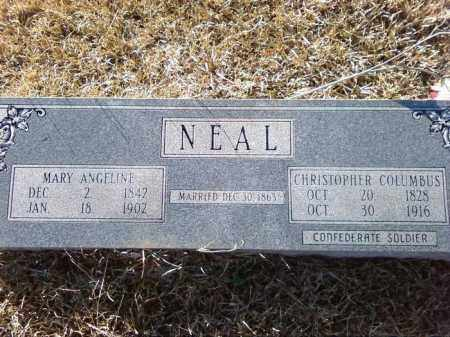 NEAL, CHRISTOPHER COLUMBUS - Cleveland County, Arkansas | CHRISTOPHER COLUMBUS NEAL - Arkansas Gravestone Photos