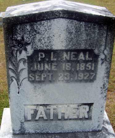 NEAL, P L - Cleveland County, Arkansas | P L NEAL - Arkansas Gravestone Photos