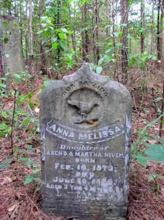 NIVEN, ANNA MELISSA - Cleveland County, Arkansas | ANNA MELISSA NIVEN - Arkansas Gravestone Photos