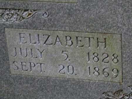 NIVEN, ELIZABETH (CLOSE UP) - Cleveland County, Arkansas | ELIZABETH (CLOSE UP) NIVEN - Arkansas Gravestone Photos