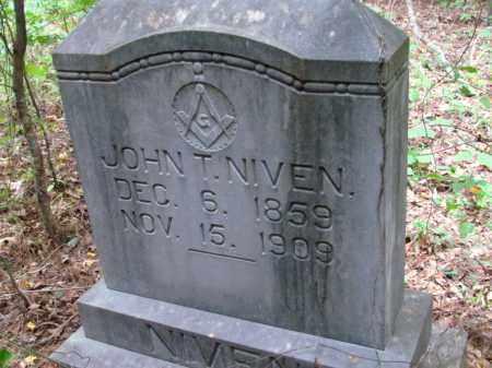 NIVEN, JOHN T - Cleveland County, Arkansas | JOHN T NIVEN - Arkansas Gravestone Photos