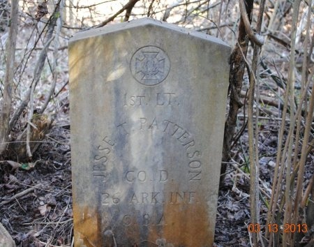 PATTERSON (VETERAN CSA), JESSE T - Cleveland County, Arkansas | JESSE T PATTERSON (VETERAN CSA) - Arkansas Gravestone Photos