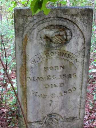 ROBINSON, W H - Cleveland County, Arkansas | W H ROBINSON - Arkansas Gravestone Photos