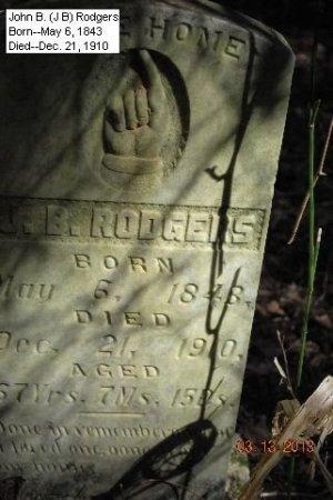 RODGERS, JOHN B. - Cleveland County, Arkansas | JOHN B. RODGERS - Arkansas Gravestone Photos