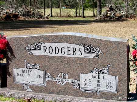 RODGERS, JACK HAMILTON - Cleveland County, Arkansas | JACK HAMILTON RODGERS - Arkansas Gravestone Photos