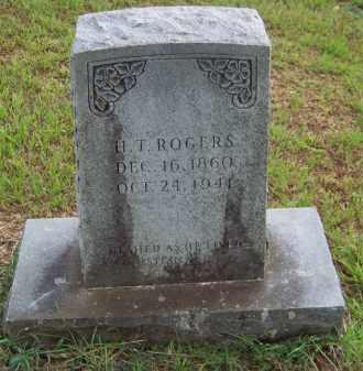ROGERS, H T - Cleveland County, Arkansas | H T ROGERS - Arkansas Gravestone Photos