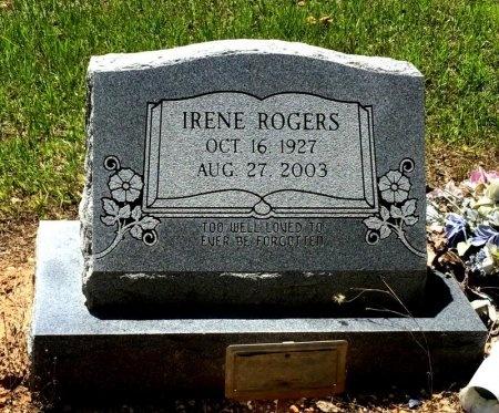 ROGERS, IRENE - Cleveland County, Arkansas | IRENE ROGERS - Arkansas Gravestone Photos