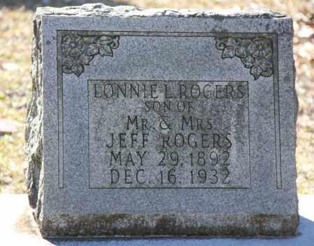 ROGERS, LONNIE - Cleveland County, Arkansas   LONNIE ROGERS - Arkansas Gravestone Photos