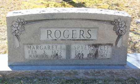 ROGERS, MARGARET L - Cleveland County, Arkansas   MARGARET L ROGERS - Arkansas Gravestone Photos