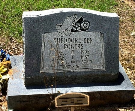 ROGERS, THEODORE BEN - Cleveland County, Arkansas   THEODORE BEN ROGERS - Arkansas Gravestone Photos