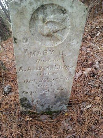 ROSS, MARY B. - Cleveland County, Arkansas | MARY B. ROSS - Arkansas Gravestone Photos
