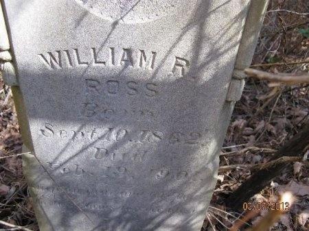 ROSS, WILLIAM R. - Cleveland County, Arkansas   WILLIAM R. ROSS - Arkansas Gravestone Photos