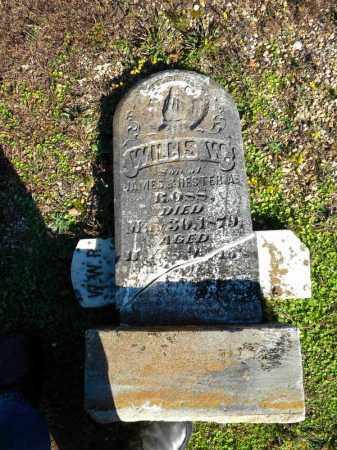 ROSS, WILLIS W - Cleveland County, Arkansas   WILLIS W ROSS - Arkansas Gravestone Photos