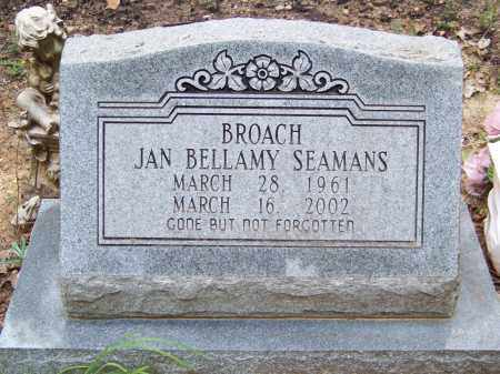 BROACH, JAN - Cleveland County, Arkansas   JAN BROACH - Arkansas Gravestone Photos
