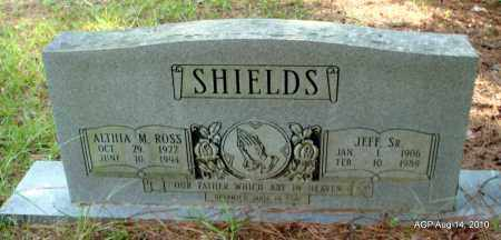 ROSS SHIELDS, ALTHIA M - Cleveland County, Arkansas   ALTHIA M ROSS SHIELDS - Arkansas Gravestone Photos