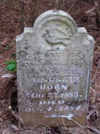 SINCLAIR, CORAH H - Cleveland County, Arkansas   CORAH H SINCLAIR - Arkansas Gravestone Photos