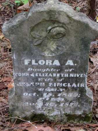 NIVEN SINCLAIR, FLORA E - Cleveland County, Arkansas | FLORA E NIVEN SINCLAIR - Arkansas Gravestone Photos