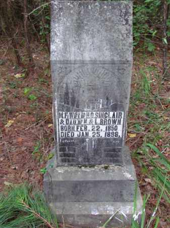 SINCLAIR, MARY F - Cleveland County, Arkansas | MARY F SINCLAIR - Arkansas Gravestone Photos