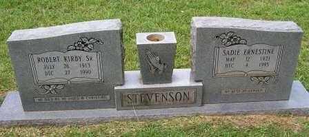 REEVES STEVENSON, SADIE ERNESTINE - Cleveland County, Arkansas | SADIE ERNESTINE REEVES STEVENSON - Arkansas Gravestone Photos