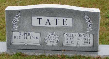 CONNELL TAYLOR TATE, NELL MONEE - Cleveland County, Arkansas   NELL MONEE CONNELL TAYLOR TATE - Arkansas Gravestone Photos