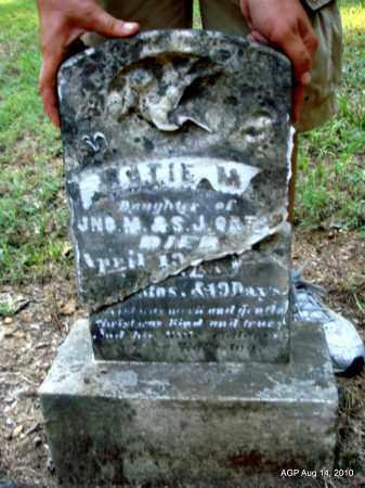 UNKNOWN, KATIE M - Cleveland County, Arkansas   KATIE M UNKNOWN - Arkansas Gravestone Photos