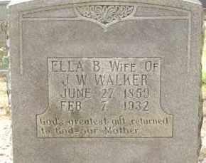WALKER, ELLA B - Cleveland County, Arkansas | ELLA B WALKER - Arkansas Gravestone Photos