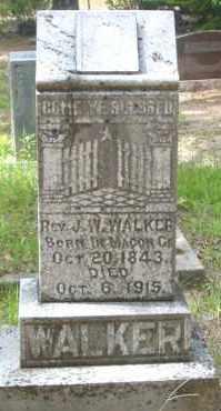 WALKER (VETERAN CSA), JOHN WESLEY, REV - Cleveland County, Arkansas   JOHN WESLEY, REV WALKER (VETERAN CSA) - Arkansas Gravestone Photos