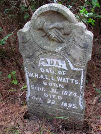 WATTS, ADA - Cleveland County, Arkansas | ADA WATTS - Arkansas Gravestone Photos