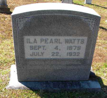 WATTS, ILA PEARL - Cleveland County, Arkansas | ILA PEARL WATTS - Arkansas Gravestone Photos