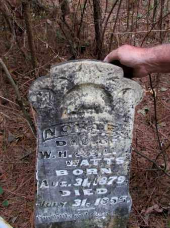 WATTS, NORA E - Cleveland County, Arkansas | NORA E WATTS - Arkansas Gravestone Photos