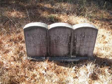 WEST, NAMONIA C. - Cleveland County, Arkansas   NAMONIA C. WEST - Arkansas Gravestone Photos