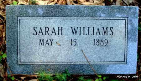 WILLIAMS, SARAH - Cleveland County, Arkansas | SARAH WILLIAMS - Arkansas Gravestone Photos