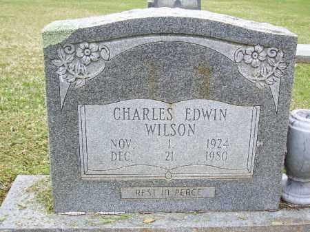WILSON, CHARLES EDWIN - Cleveland County, Arkansas | CHARLES EDWIN WILSON - Arkansas Gravestone Photos