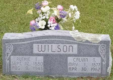 "WILSON, CALVIN THOMAS 'BUD"" - Cleveland County, Arkansas 