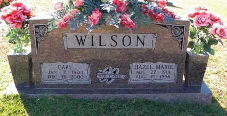 WILSON, CARL - Cleveland County, Arkansas | CARL WILSON - Arkansas Gravestone Photos