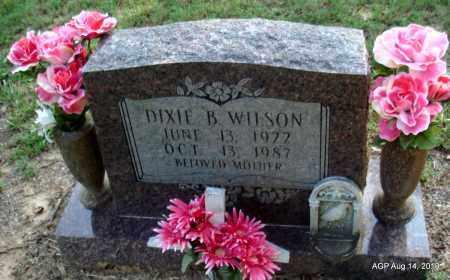 WILSON, DIXIE B - Cleveland County, Arkansas   DIXIE B WILSON - Arkansas Gravestone Photos