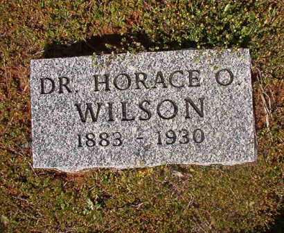 WILSON, HORACE O, DR - Cleveland County, Arkansas | HORACE O, DR WILSON - Arkansas Gravestone Photos