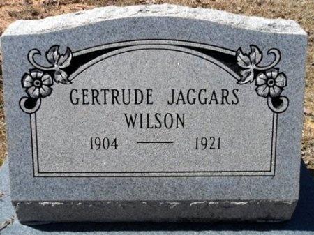 WILSON, GERTRUDE - Cleveland County, Arkansas | GERTRUDE WILSON - Arkansas Gravestone Photos