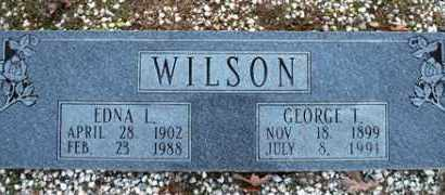 WILSON, GEORGE TURNLEY - Cleveland County, Arkansas | GEORGE TURNLEY WILSON - Arkansas Gravestone Photos