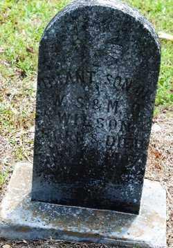 WILSON, INFANT - Cleveland County, Arkansas   INFANT WILSON - Arkansas Gravestone Photos