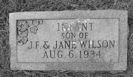 WILSON, INFANT SON - Cleveland County, Arkansas | INFANT SON WILSON - Arkansas Gravestone Photos