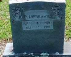 WILSON, JOHN EDWARD - Cleveland County, Arkansas | JOHN EDWARD WILSON - Arkansas Gravestone Photos