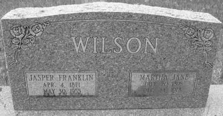 WILSON, MARTHA JANE - Cleveland County, Arkansas | MARTHA JANE WILSON - Arkansas Gravestone Photos