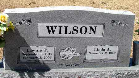 WILSON, LAWNIE T - Cleveland County, Arkansas | LAWNIE T WILSON - Arkansas Gravestone Photos