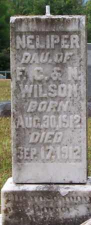 WILSON, NELIPER - Cleveland County, Arkansas | NELIPER WILSON - Arkansas Gravestone Photos