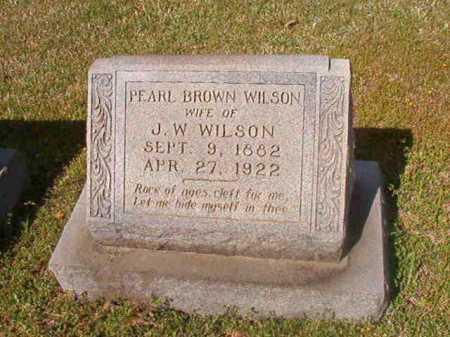 WILSON, PEARL - Cleveland County, Arkansas | PEARL WILSON - Arkansas Gravestone Photos